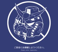 PSA (Gundam + white lines ver.) by Supatomic