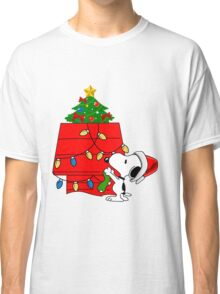 Snoopy christmas Classic T-Shirt