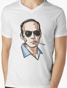 Hunter S. Thompson Mens V-Neck T-Shirt
