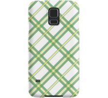 Green Check Samsung Galaxy Case/Skin