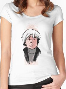 Andy Warhol Women's Fitted Scoop T-Shirt
