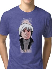 Andy Warhol Tri-blend T-Shirt