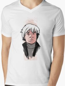 Andy Warhol Mens V-Neck T-Shirt