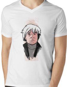 Andy Warhol Mens V-Neck T-Shirt