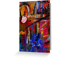 Reflective Journey Greeting Card