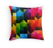 Geometric Triangles - 1 Throw Pillow
