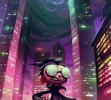"Invader Zim - Dib ""The Nightmare Begins"" by MylaFox"