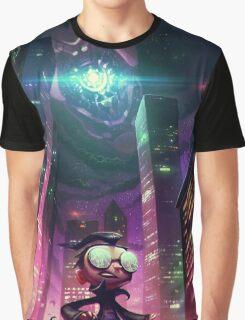 "Invader Zim Fan Art - Dib ""The Nightmare Begins"" Graphic T-Shirt"