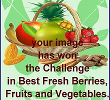 challenge banner for  Fresh berries Fruit banner by aldona