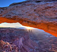 Sunrise at Mesa  Arch, Canyonlands 9/1/2012 by Craig Durkee