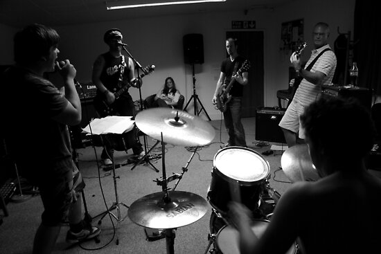 Future Relic - Band Practice - The Band by rsangsterkelly