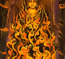 Buddha. Fire of meditation by Vrindavan Das