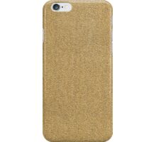 gold knit iPhone Case/Skin