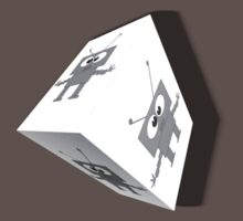 Robot Trapped In A Cube by Jessicabritton