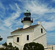 Old Point Loma Lighthouse  by 2HivelysArt