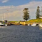 Kiarama  (Kiama Harbour) by TonyCrehan