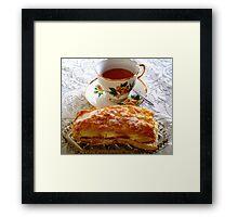 Coffee & Cake Framed Print
