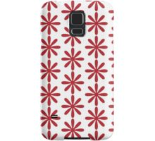 The Simple But Very Red Flower Samsung Galaxy Case/Skin