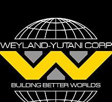 WEYLAND YUTANI ALIEN by srvsl
