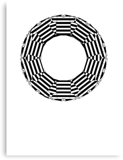 ring-o-t-shirts black and white  by IanByfordArt