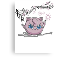 Jiggly-Puff Tagging Tees Canvas Print