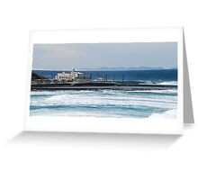 Newcastle Baths III Greeting Card