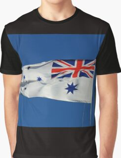 Naval Flag, Bradleys Head, Sydney Harbour, Australia. Graphic T-Shirt