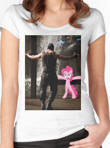 Bane Loves Ponies  Women's Fitted Scoop T-Shirt