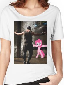 Bane Loves Ponies  Women's Relaxed Fit T-Shirt