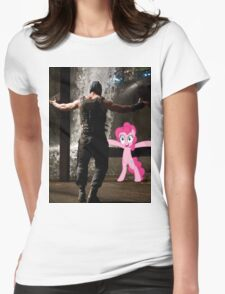 Bane Loves Ponies  Womens Fitted T-Shirt