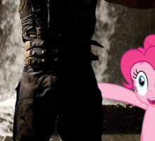 Bane Loves Ponies  Sticker