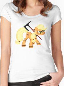 Applejack Dragonborn  Women's Fitted Scoop T-Shirt