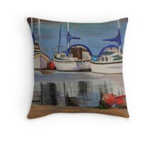 Conway Bay, North Wales Throw Pillow