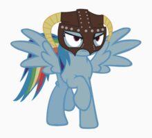 Rainbow Dash is Dragonborn by eeveemastermind