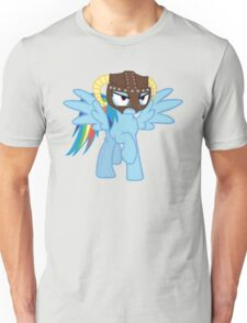 Rainbow Dash is Dragonborn Unisex T-Shirt