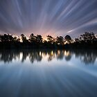 """Warp 10"" ∞ Brisbane River, QLD - Australia by Jason Asher"