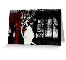 White Queen Greeting Card