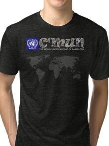 C'MUN White Map Tri-blend T-Shirt