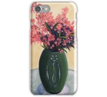 Christmas Bush in an Arts and Crafts Vase iPhone Case/Skin