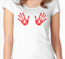 HANDS Women's Fitted Scoop T-Shirt