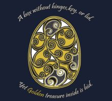 """A Golden Riddle""  by Ameda Nowlin"