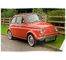 Fiat 500L Poster