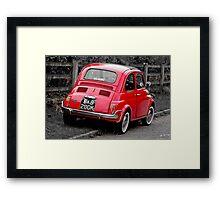 Fiat 500L Framed Print