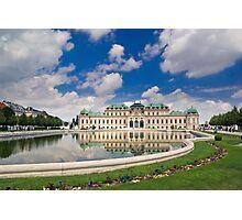 Belvedere Palace, Vienna, Austria Photographic Print