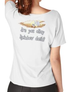 Are you ok Rainbow Dash? Women's Relaxed Fit T-Shirt