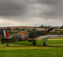 The Hawker Hurricane at Shoreham Airshow 2012. by Shane Ransom