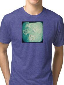 Snowflakes Tri-blend T-Shirt