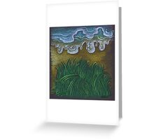 Life - water and grass Greeting Card