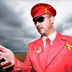 Captain Scarlet AKA Miles HI Club by Heather Buckley