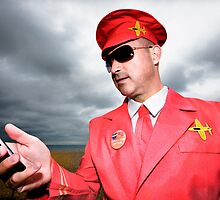 Captain Scarlet AKA Miles HI Club by Heather Buckley